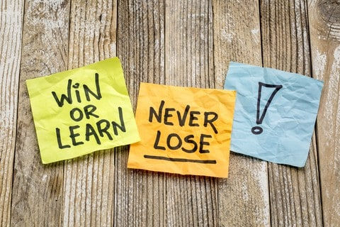 Win Or Learn for Success